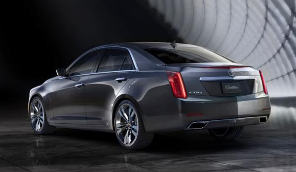 2014 Cadillac CTS - Rear