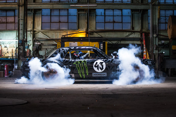 Ken Block Reappears with the Gymkhana SEVEN