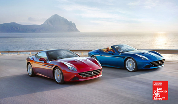 Ferrari California T Wins The Most Stylish Car of the Year Award in Switzerland