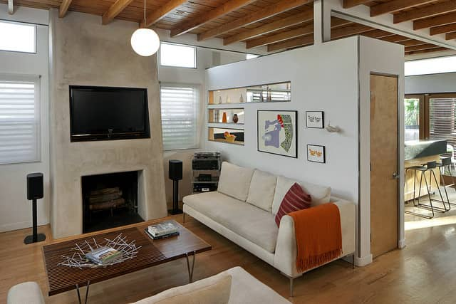 Tiny home interior-Living Room